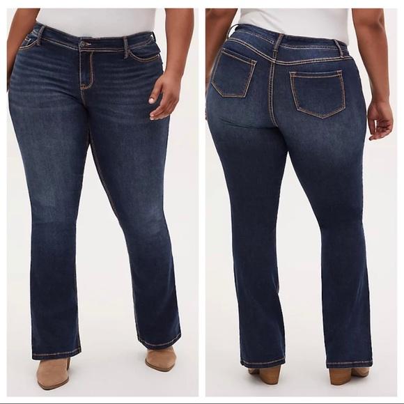 NWT Torrid slim boot stretch jeans sz 14 (ab14)